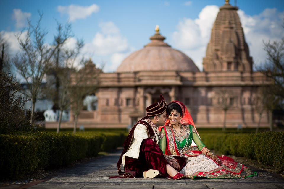 Portrait at Oshwal Centre, Asian Wedding Location