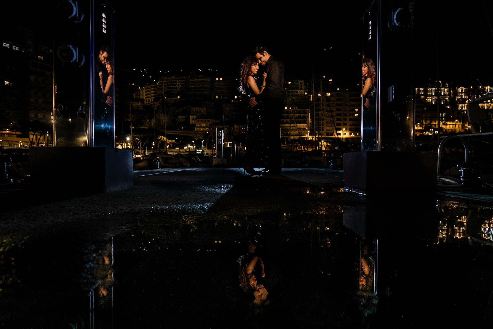 Pre wedding photoshoot in Monaco