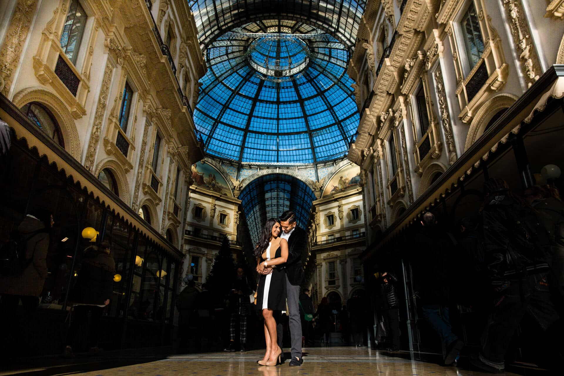 Pre wedding photoshoot in Milan