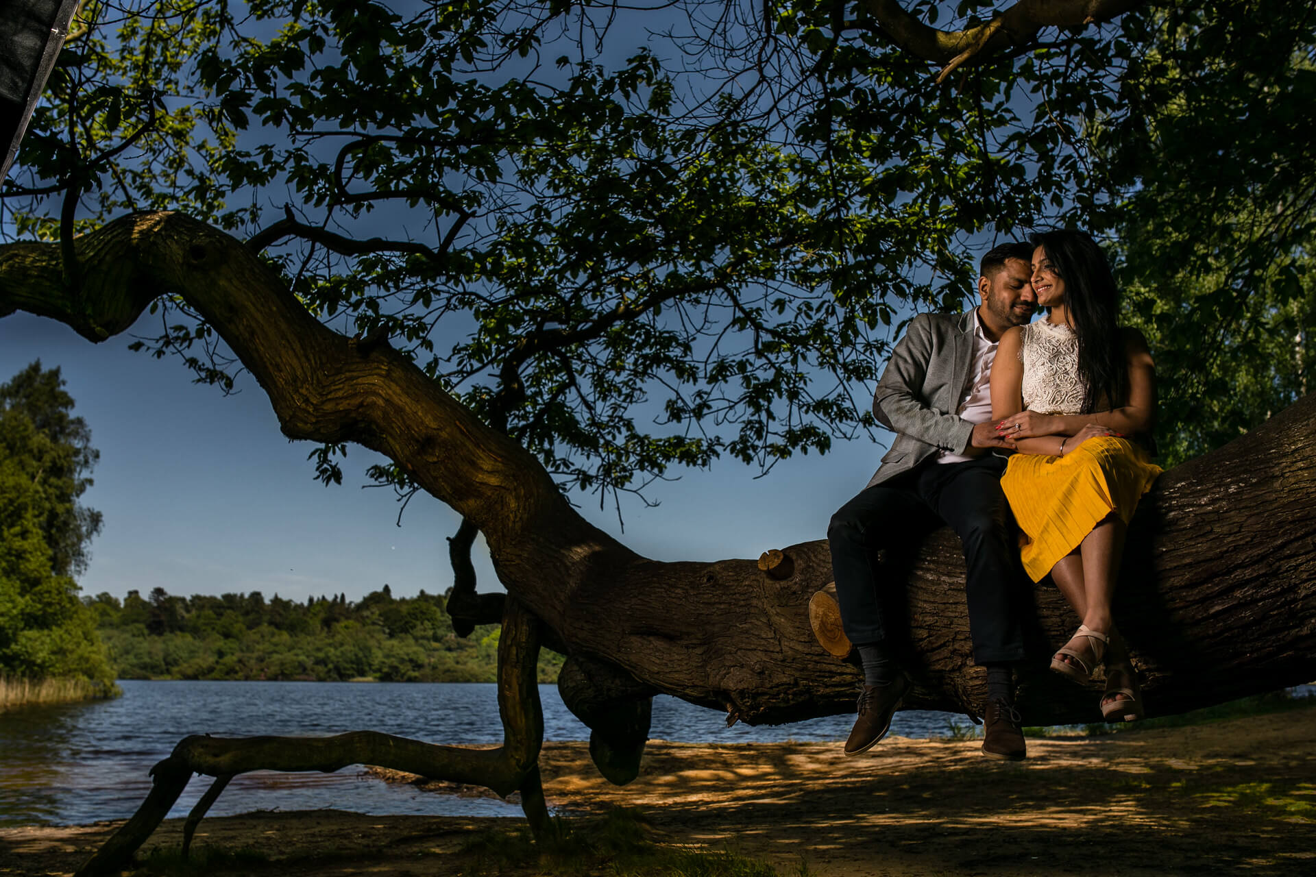 Pre wedding shoot in Virginia waters