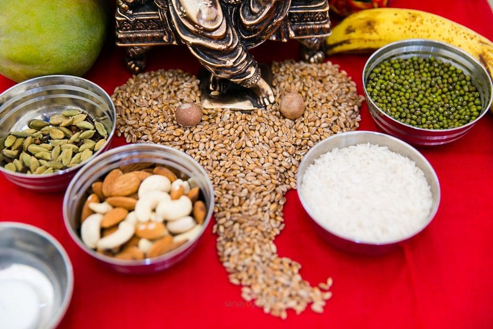 Hindu wedding items