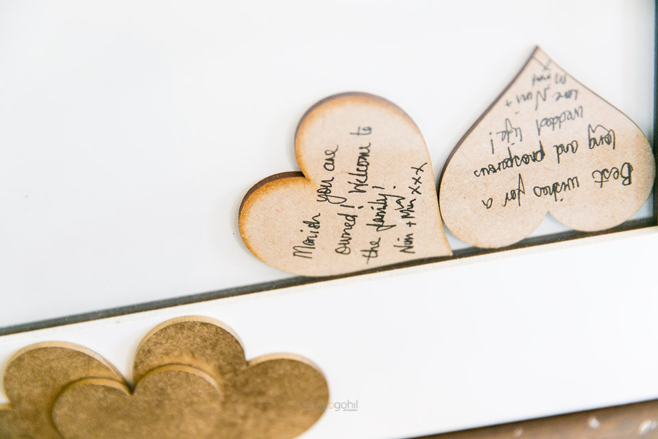Guestbook hearts