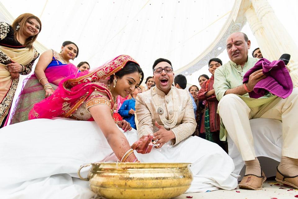 Koda Kodi game during Gujarati wedding