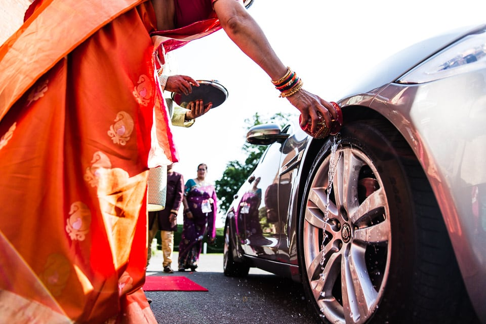 Wheel blessing ceremony