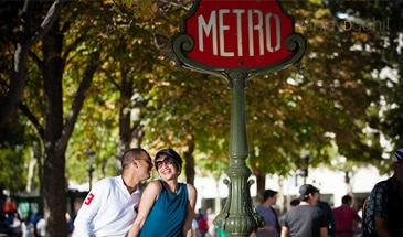 Paris engagement photoshoot