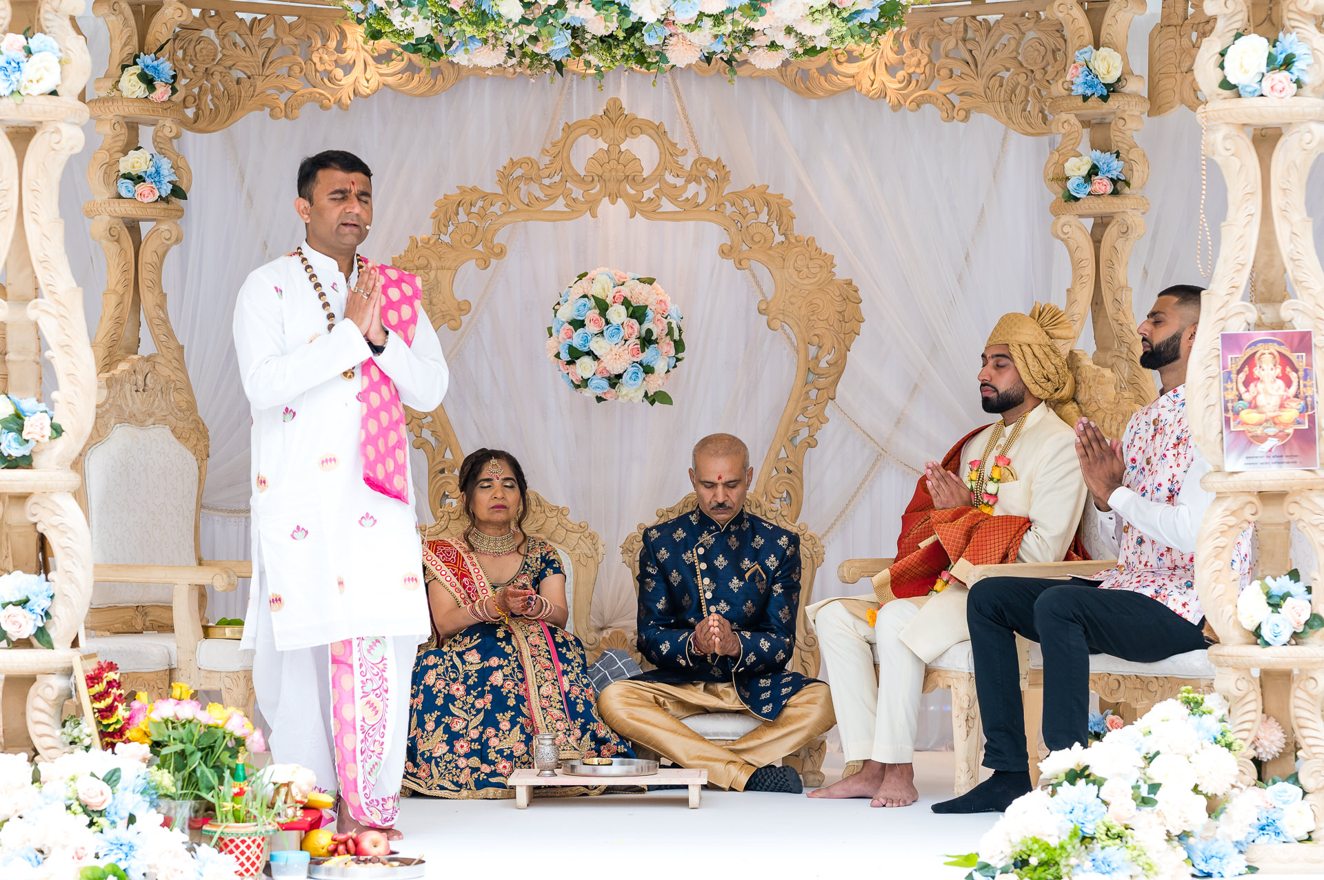 Milan Mehta wedding priest