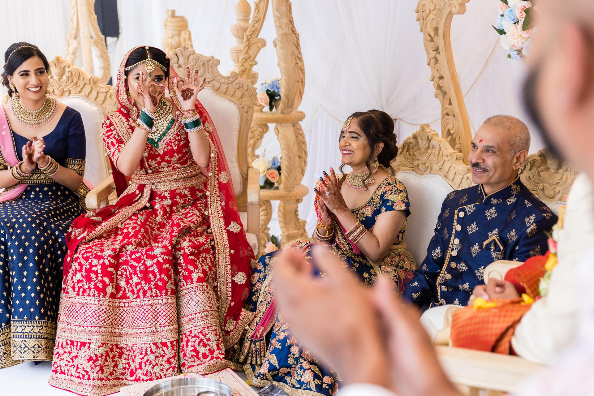 Bridal reaction