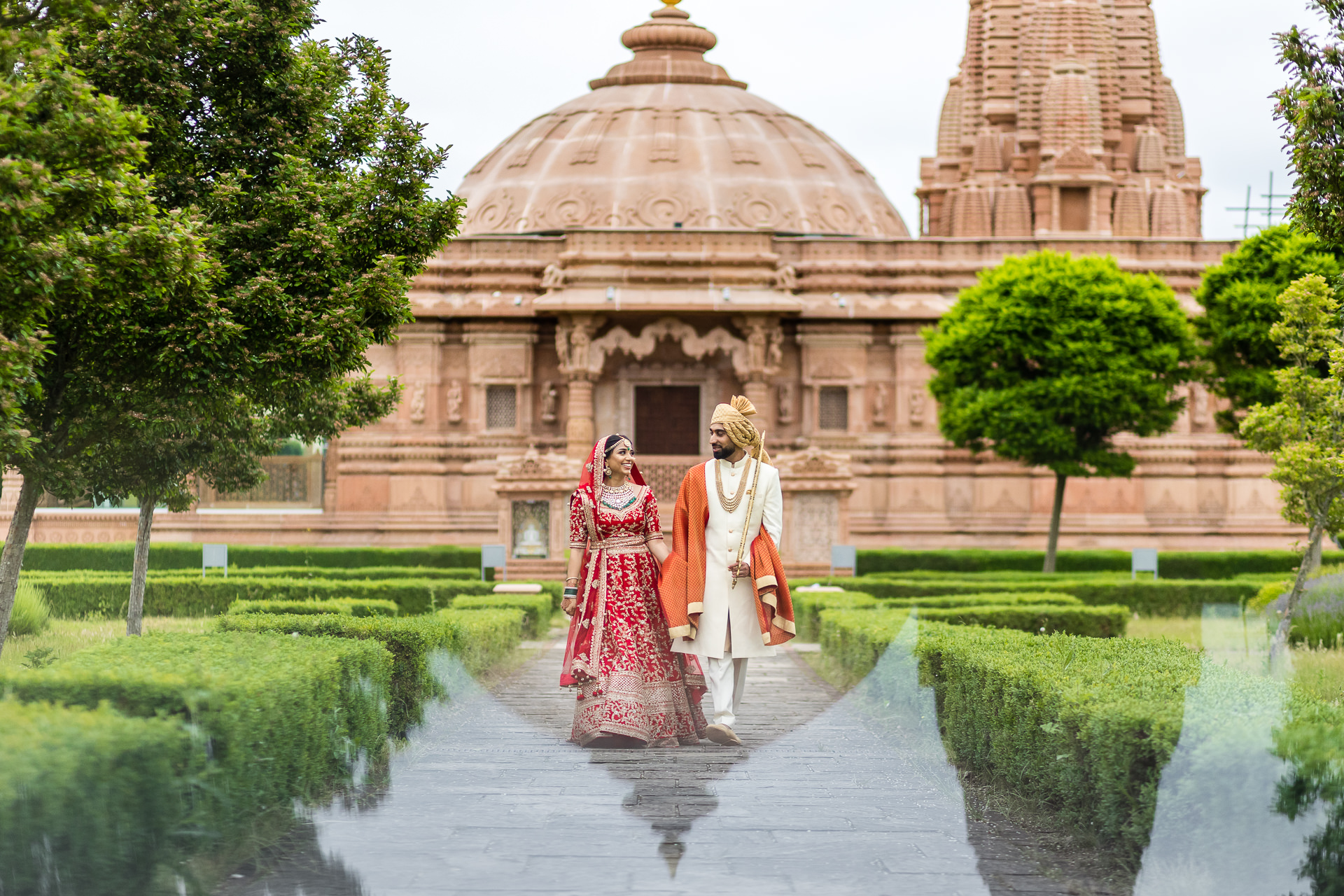Sonal & Hemal's Hindu wedding at KP Centre
