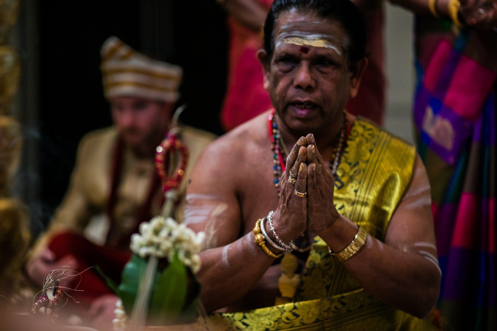 South indian Hindu wedding ceremony