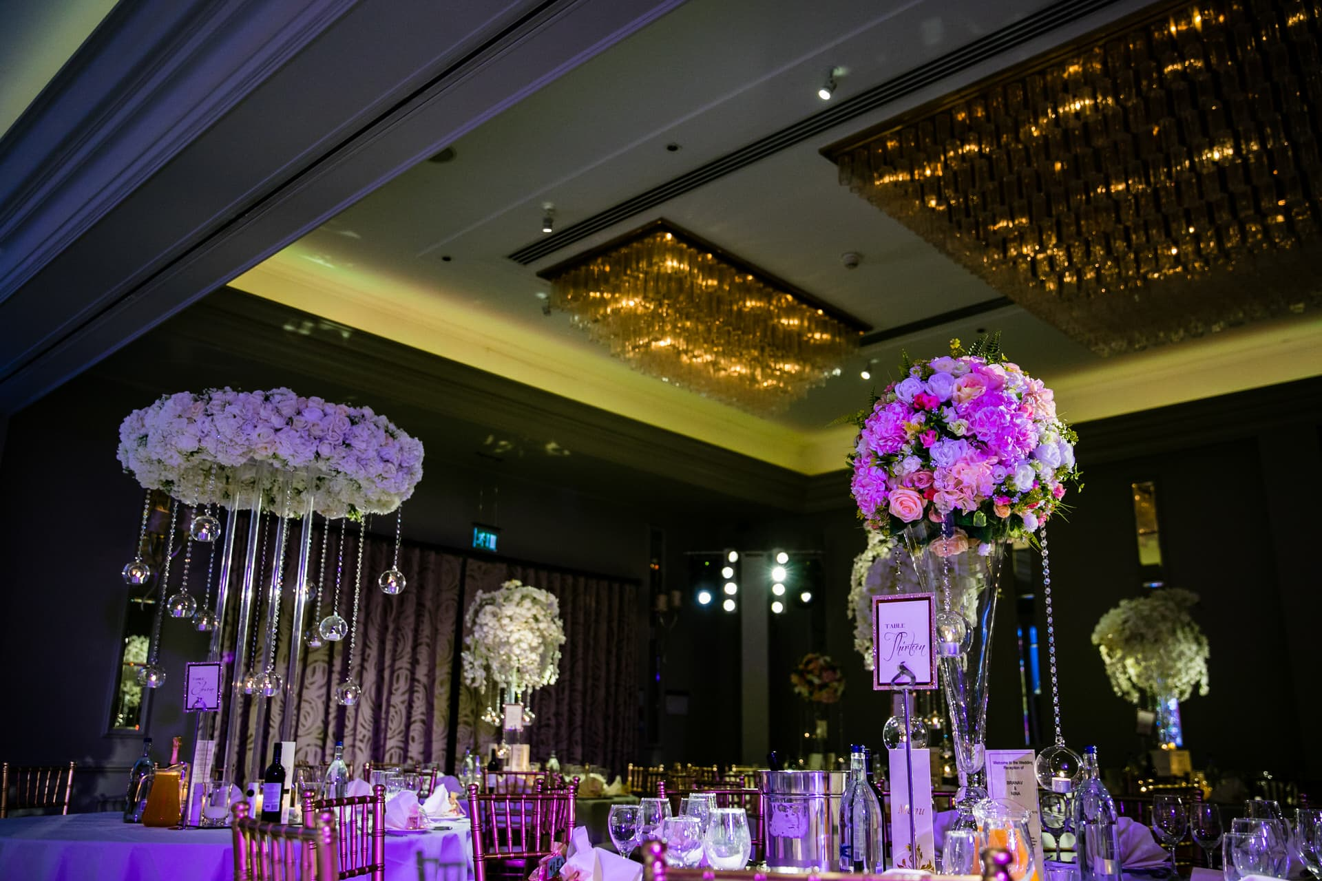 Wedding reception party setup by Shagun weddings