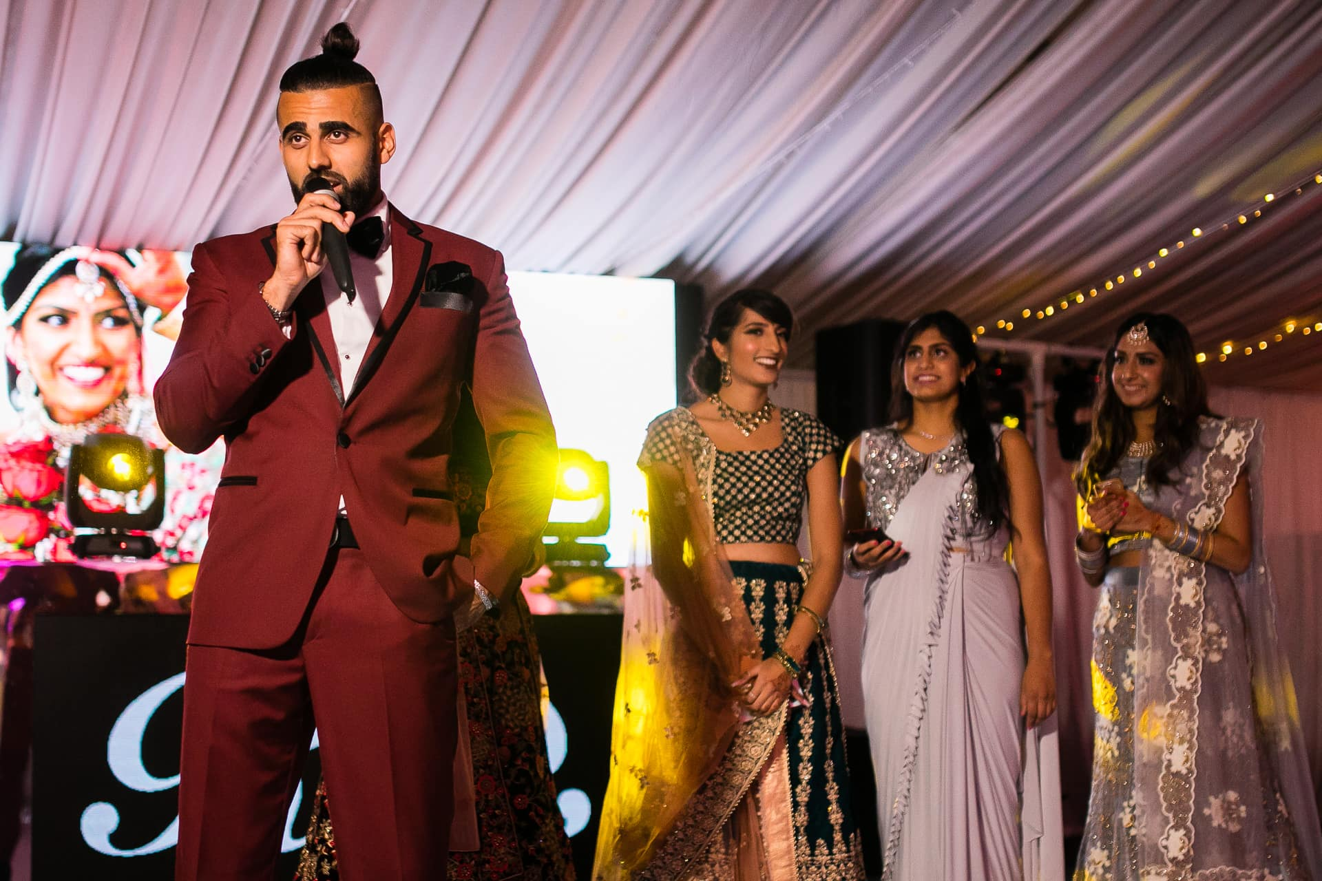 Bride's brother's speech