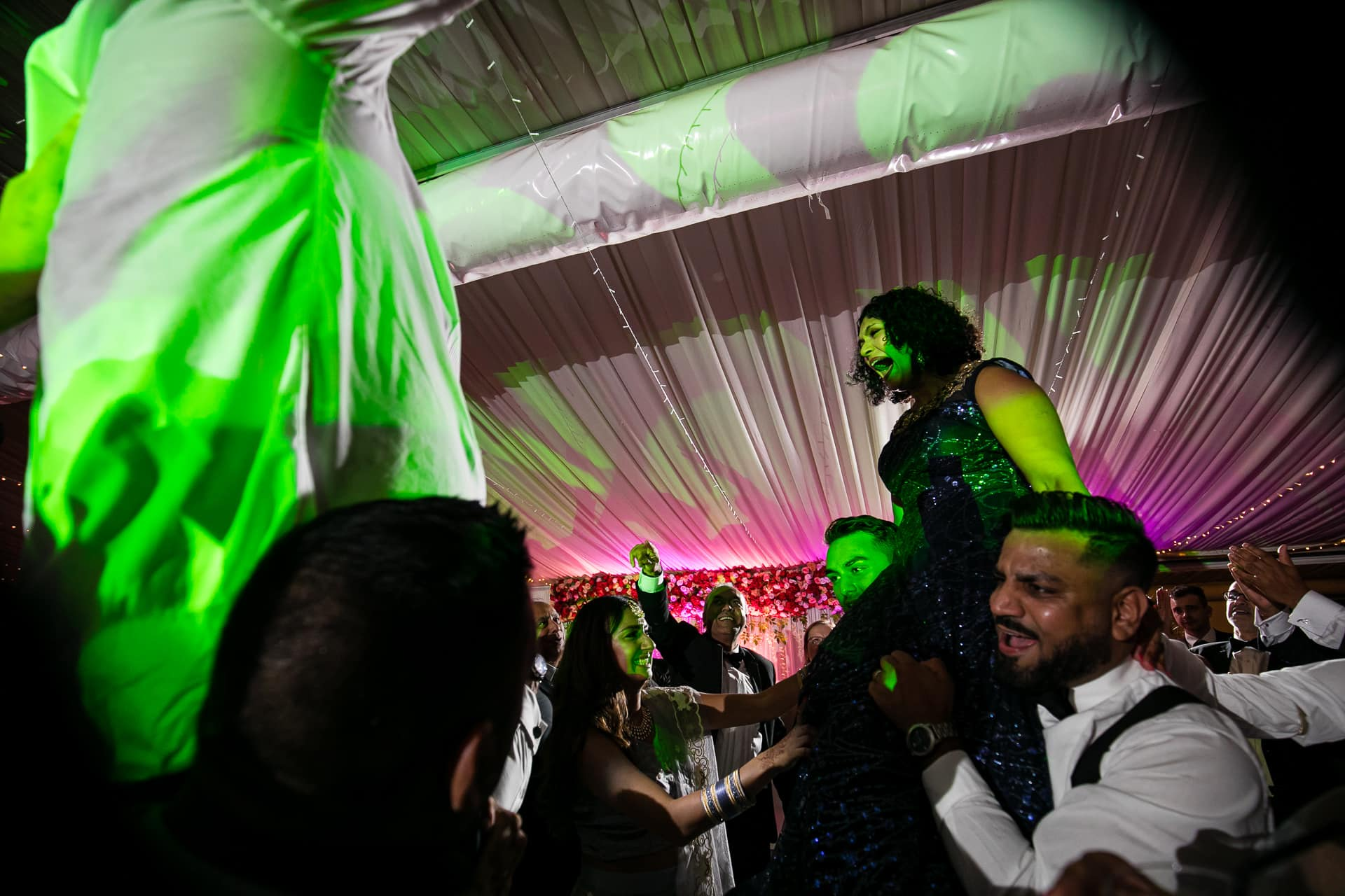 Wedding Reception Party at Tewinbury Farm