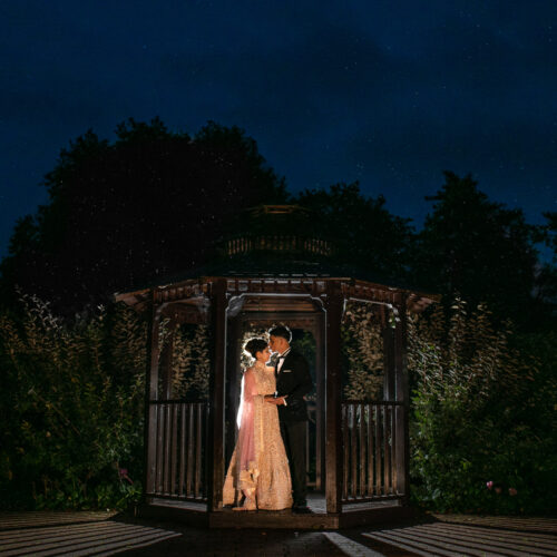 Asian Wedding portrait at Tewinbury farm